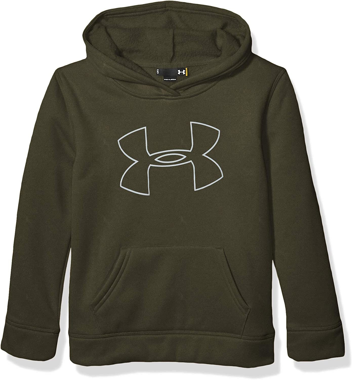 Guardian Green H19 Under Armour Boys Little Big Logo Hoodie 6