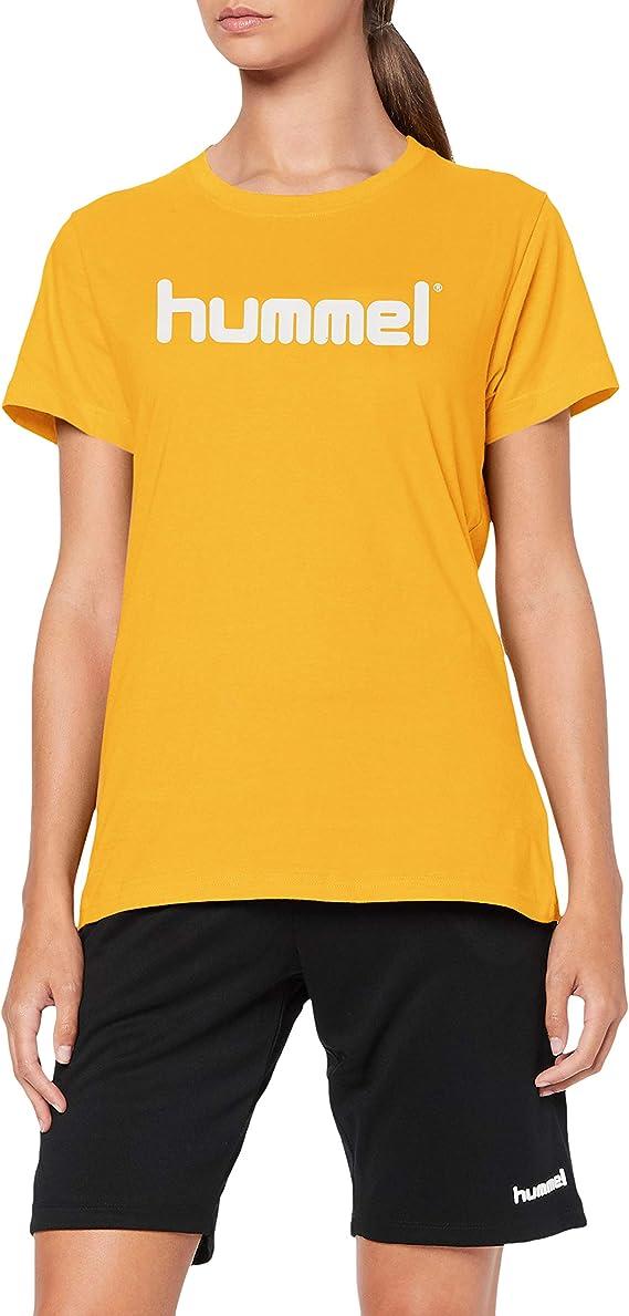 T-Shirt da Donna in Cotone hummel Hmlgo