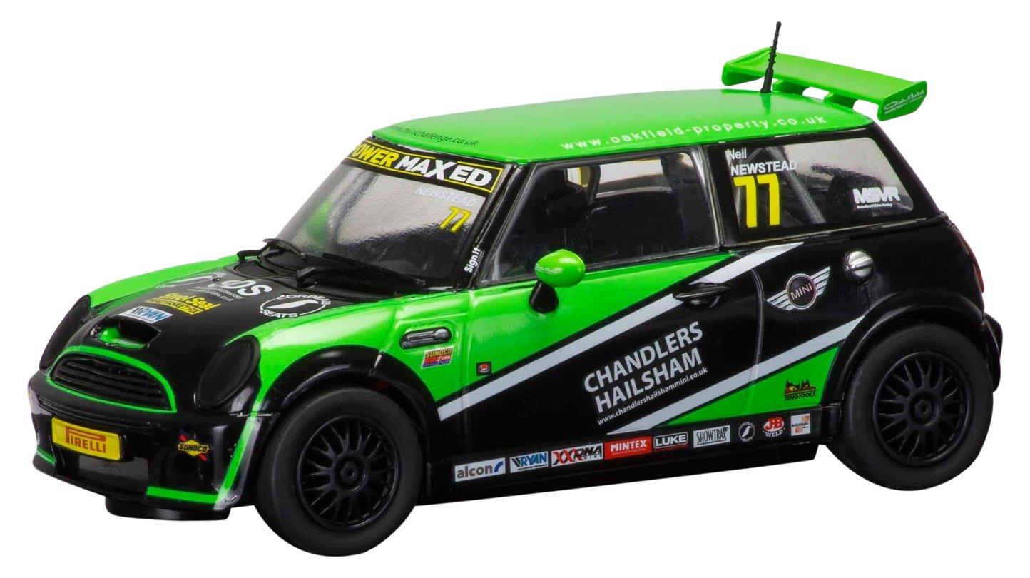 Scalextric C3743 BMW Mini Cooper S Chandlers Hailsham Challenge 2015 Slot Car 1: 32 Scale