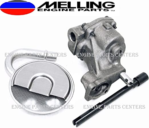 MELLING High Volume M55HV Oil Pump+ARP Stud for Chevy SBC 305 327 350 383 400