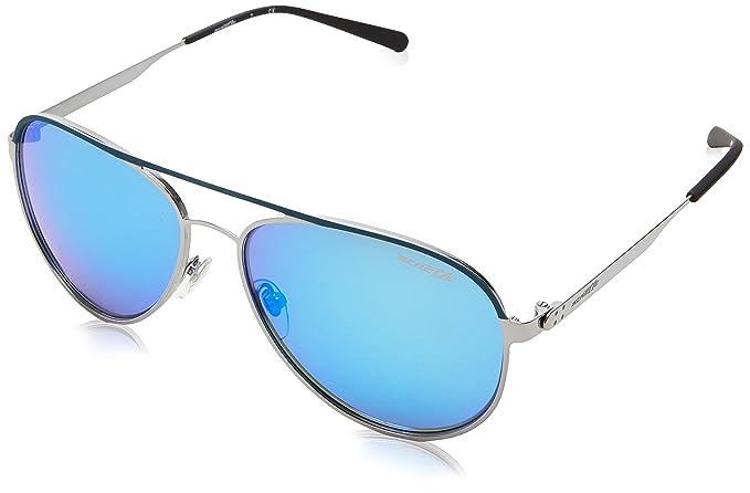 Arnette Dweet, Gafas de Sol para Hombre, Blue Rubber/Gunmetal, 58