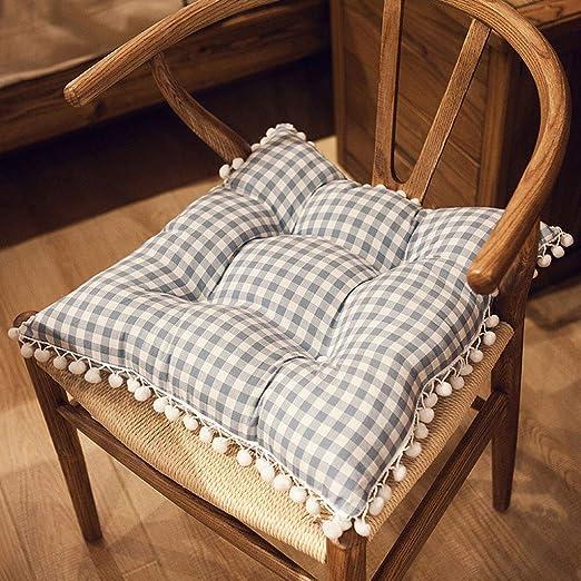 XINR Cojines para sillas de 44 x 44 x 10 cm para Interior y Exterior de