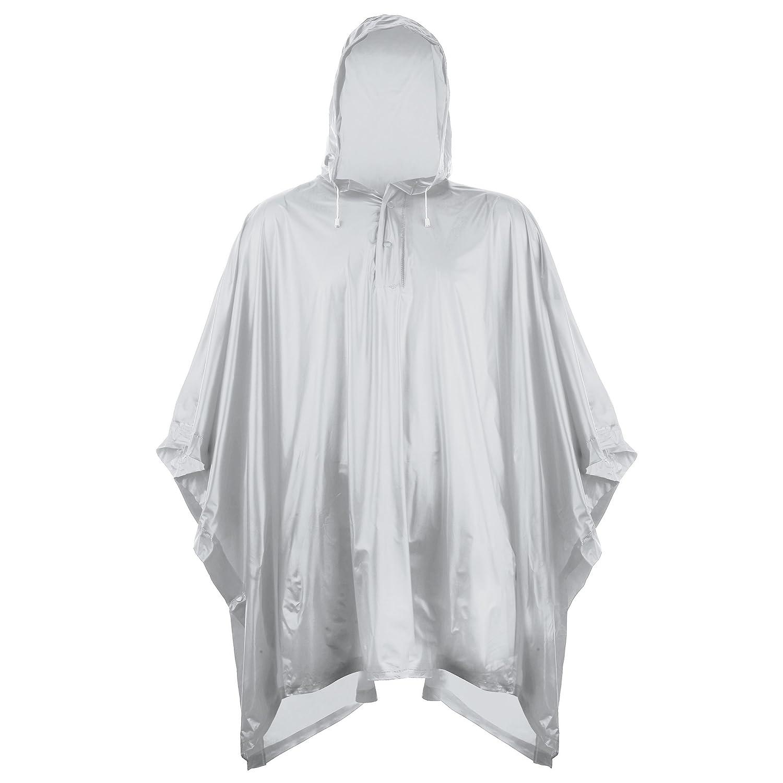 clear poncho raincoat