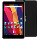NuVision Solo 8 Android Tablet with 8 Inch Touch Screen IPS HD Display 1280 x 800, 1GB RAM 16GB Storage, 2MP Dual Camera, Quad Core 1.3GHz Processor, Bluetooth, WiFi and Micro USB, Black