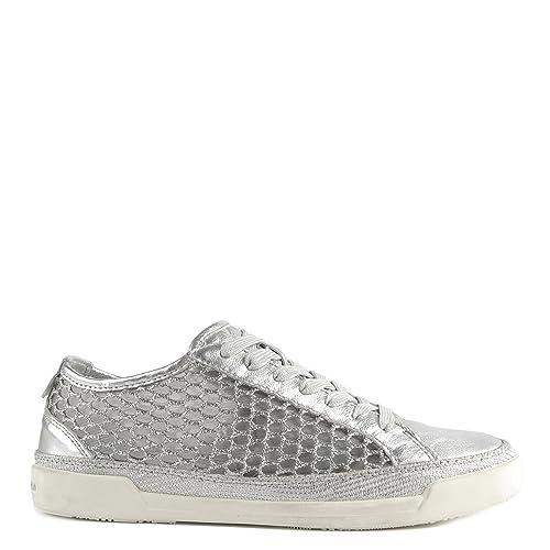 f288183bec56bb CRIME London Haz Schuhe Sneaker Silber Damen 37 Grau  Amazon.de ...