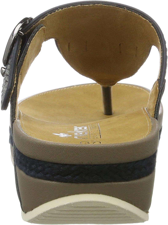 Rieker V1460 14 Zehentrenner Flip Flop Pantolette top Gr. 42