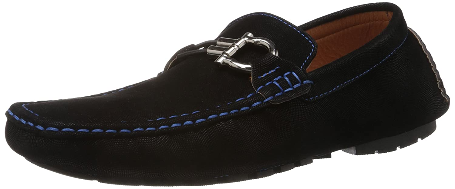 a63c547601b Pavers England Men s Black Loafers and Mocassins - 11 UK  Buy Online at Low  Prices in India - Amazon.in