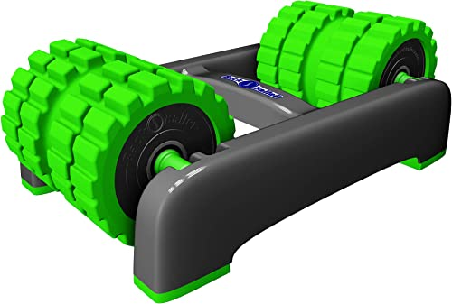 BackBaller Dual-Mounted Foam Roller for focused muscle relief