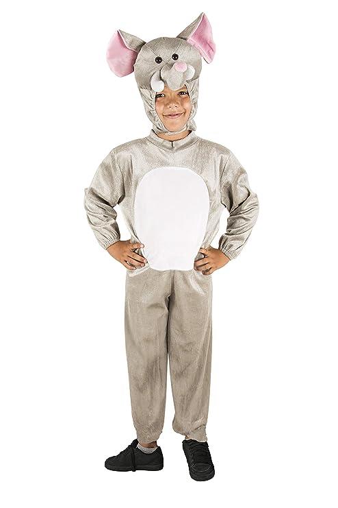 Costumizate! Disfraz de Elefante Talla 7-9 Especial para niños ...