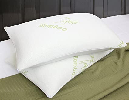 Amazon Quality Bamboo Pillow Bamboo Covered Memory Foam Pillow Extraordinary Bamboo Covered Memory Foam Pillow
