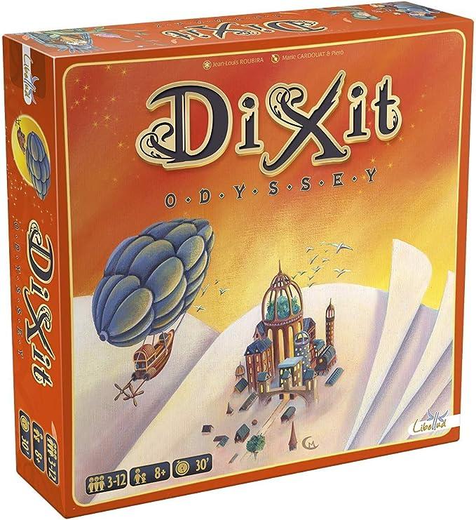 Dixit Odyssey original - Juego de mesa (Asmodée, DIX03ML1): Amazon ...