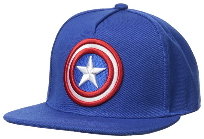 f046877dd35 Marvel Men s Captain America Baseball Cap