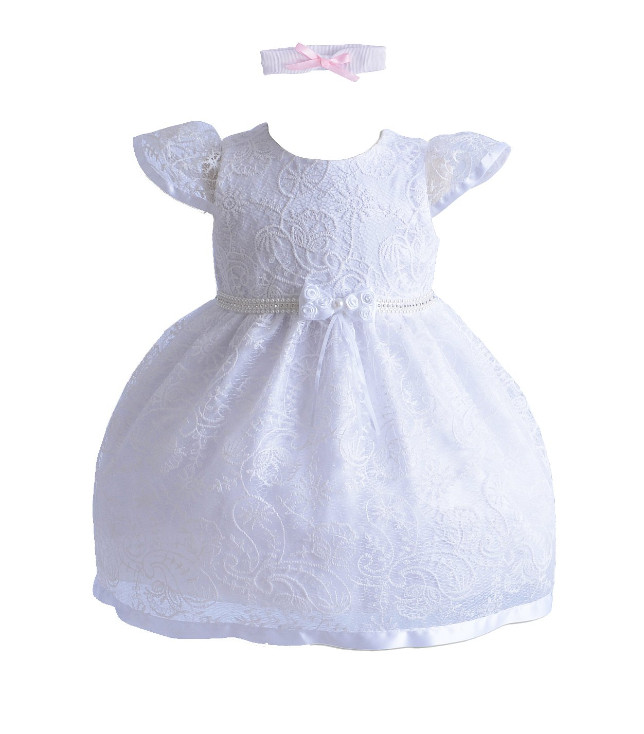 Cinda Girls Christening/Party Dress C002