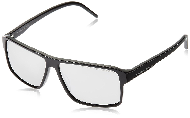 [ポルシェデザイン]PORSCHE DESIGN サングラス  メンズ B01GY0VA62 日本 60 (FREE サイズ) ブラック ブラック 日本 60 (FREE サイズ)