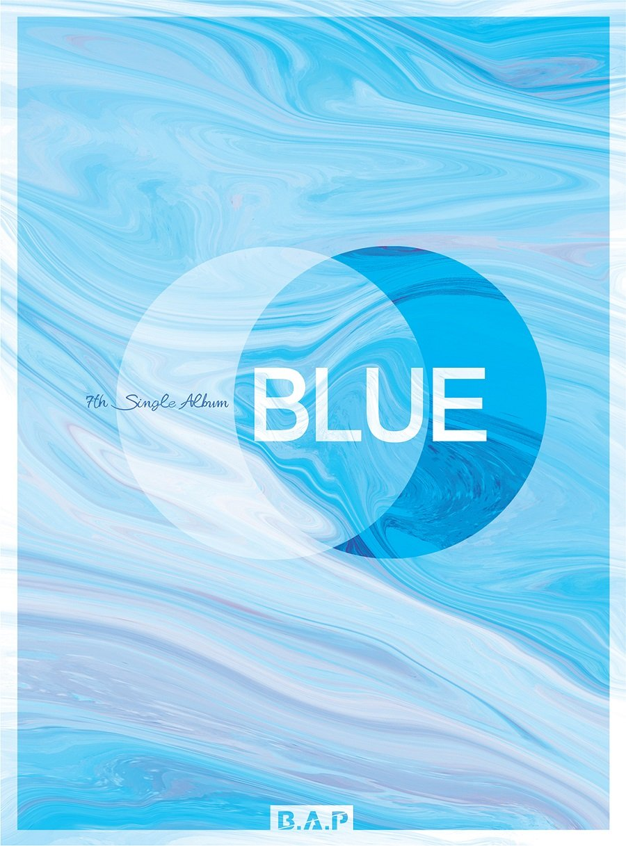 B.A.P BAP - BLUE (7th Single Album) [A ver.] CD+Photobook+Folded Poster Loen Entertainment L200001470