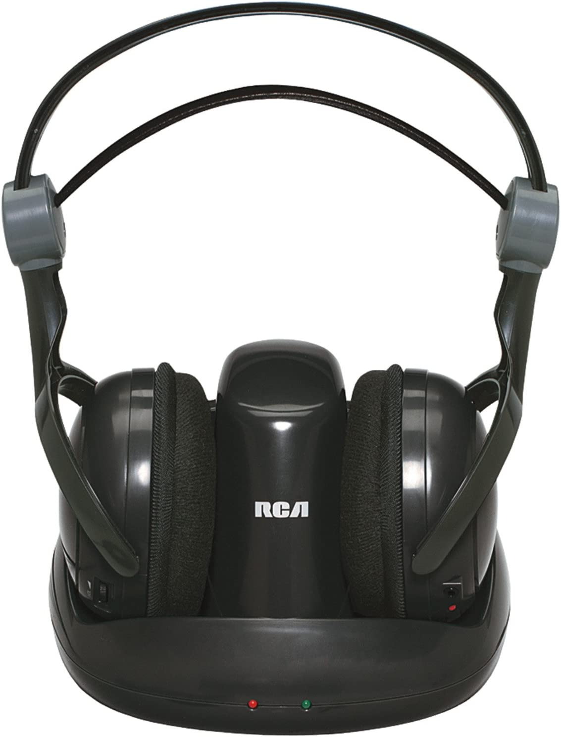 Audiovox RCA Black Wireless 900MHz Full-Size Headphones