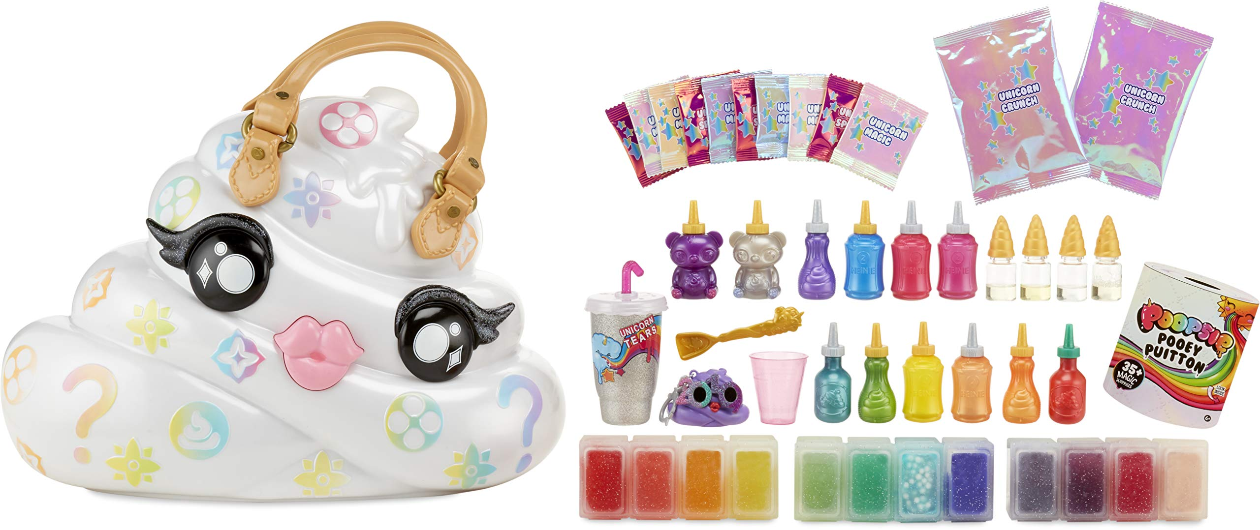 Poopsie Pooey Puitton Slime Surprise Slime Kit & Carrying Case