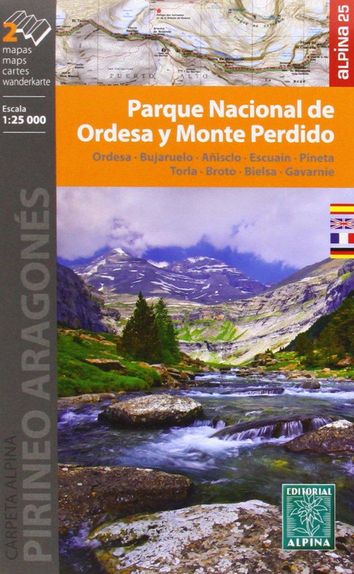 Parque Nacional de Ordesa Y Monte Perdido (2 Cartes) (Anglais) Carte – Carte pliée, 1 mars 2013 EDITORIAL ALPINA S.L. 8480904879 Karten / Stadtpläne / Europa