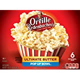 Orville Redenbacher's Gourmet Microwavable Popcorn, Ultimate Butter, 6 ct, 3.3 oz