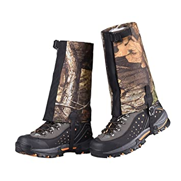 Outdoor Hiking//Walking//Trekking Waterproof Boot Ankle Legging Gaiters Covers UK