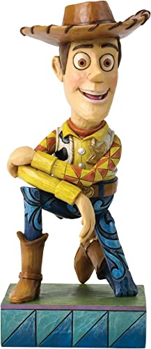 Disney Jim Shore Traditions Woody Figurine, 7-Inch