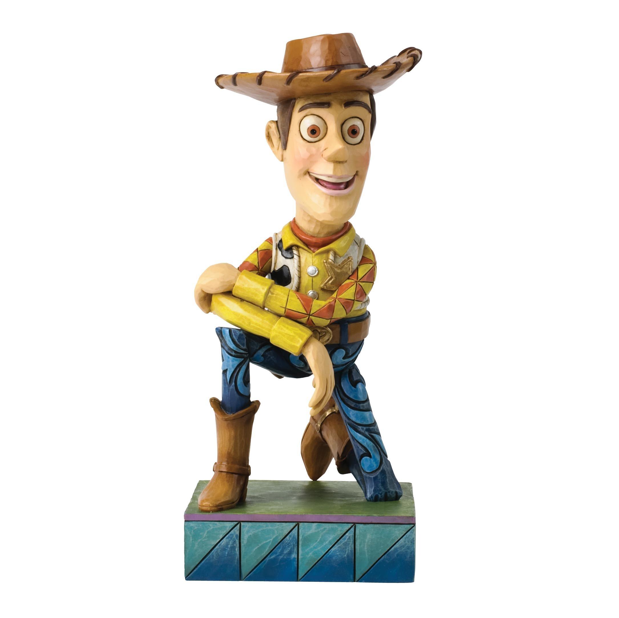 Jim Shore Disney Traditions Woody Figurine, 7-Inch