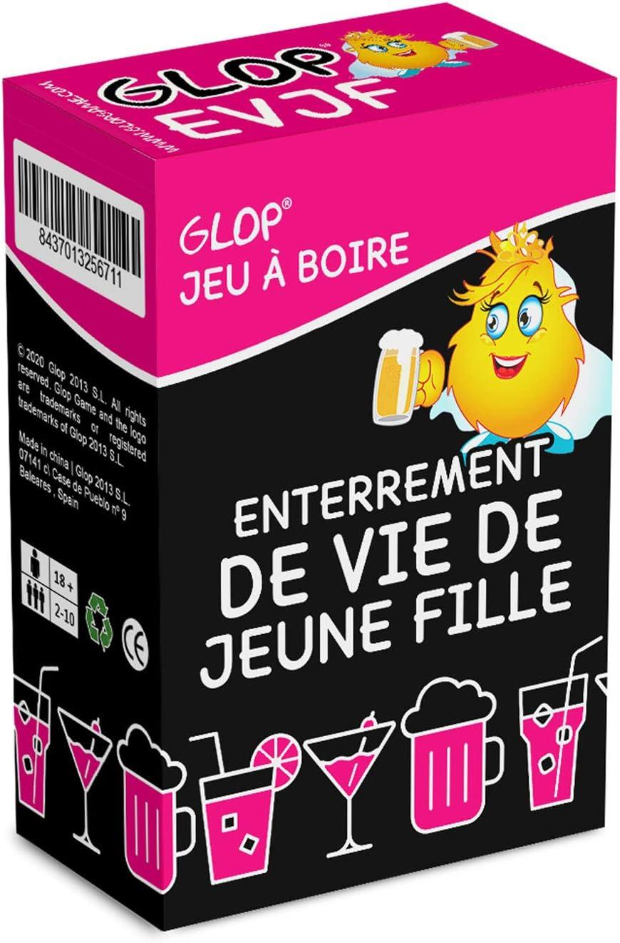 Trinkspiel Partyspiel Kartenspiel Glop Junggesellinnenabschied 100 Spielkarten Saufspiel JGA Spieleabend Brettspiel