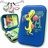 Basketball Dinosaur Pencil Cases for Boy Cool Embossed Pen Bags School Supplier Cute Stationery Boxes