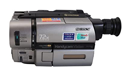 Sony handycam see through