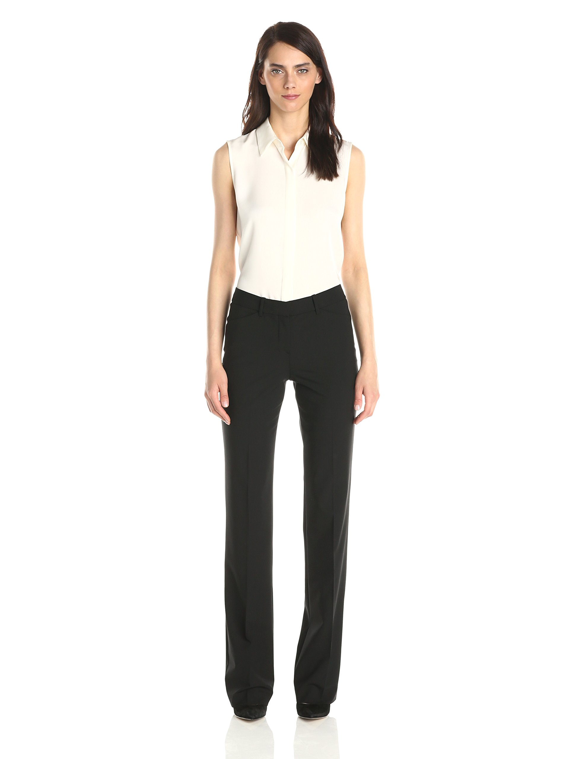Theory Women's Custom Max 2 Edition Pant, Black, 8 by Theory (Image #3)