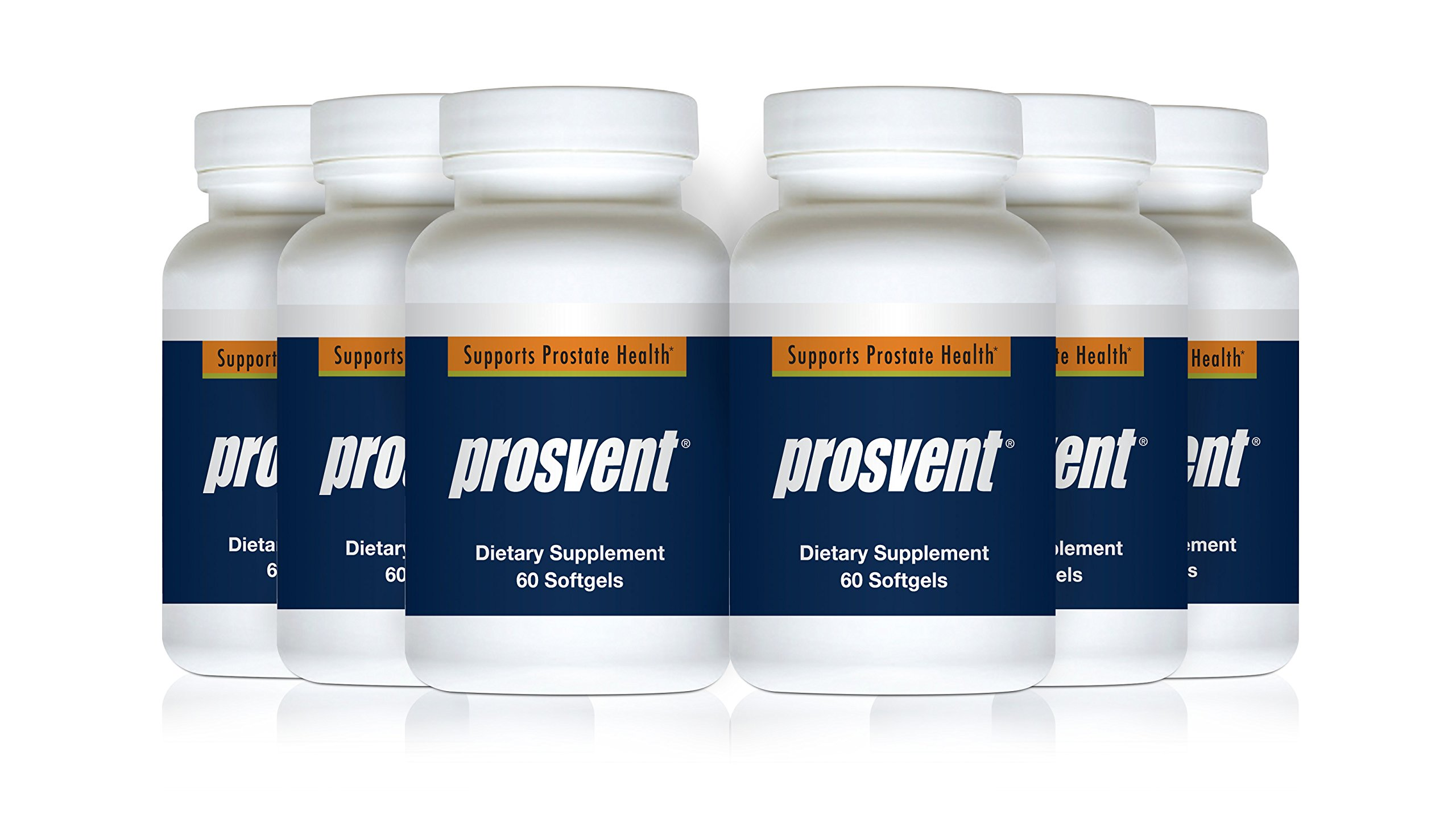 PROSVENT-Natural Prostate Health Supplement -Clinically Tested Ingredients- Reduce Urgency & Frequency. Improve Flow, Sleep, Health & Quality of Life. Over 180 Million DOSES Sold! –6 Month Supply