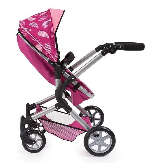 Amazon.es: Bayer Design 18147 AA Carrito para muñecas Neo Star con Bolso Cambiador y Cesta de la Compra Debajo Convertable para Carrito de bebé, ...