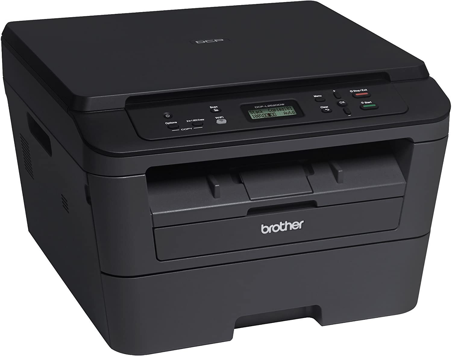 Amazon.com: Impresora láser Brother DCPL2520DW ...