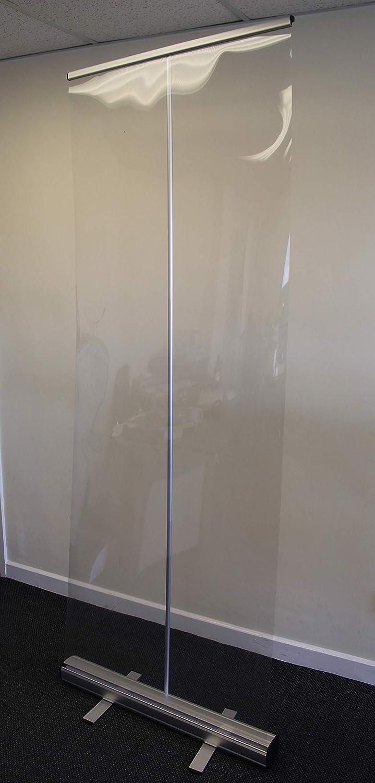 The Lean Warehouse - Divisor de plástico desplegable (800 x 2000 ...