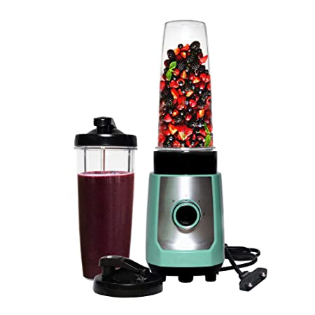 PUFFIN High Speed 300W Juicer Mixer Grinder Smoothie Maker, Green