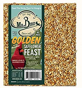 Mr. Bird Golden Safflower Feast Large Block 1 lb. 10 oz.