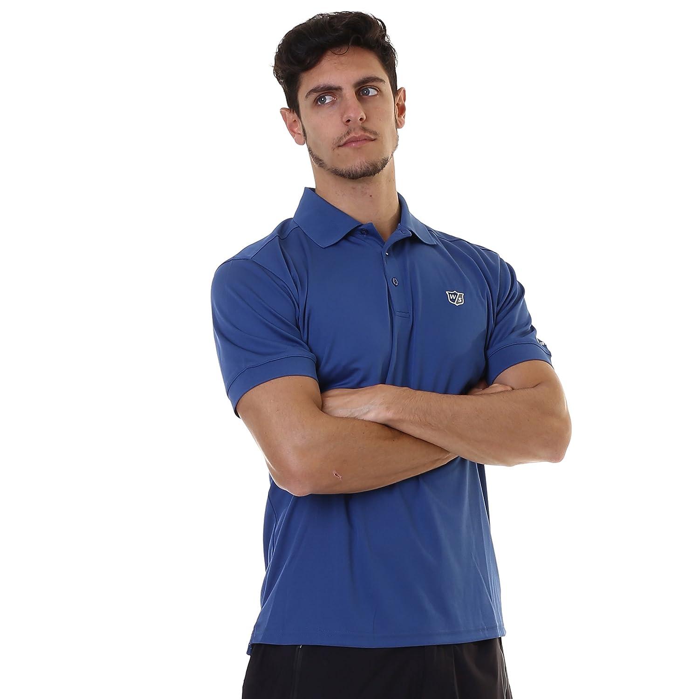 Wilson Staff Mens Authentic Polo (Dark Blue Talla L: Amazon.es ...