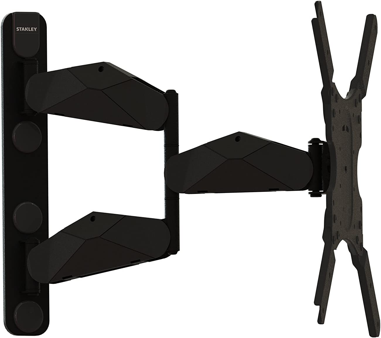 Stanley TV Wall Mount - Slim Full Motion Articulating Mount for Large Flat Panel Television 23