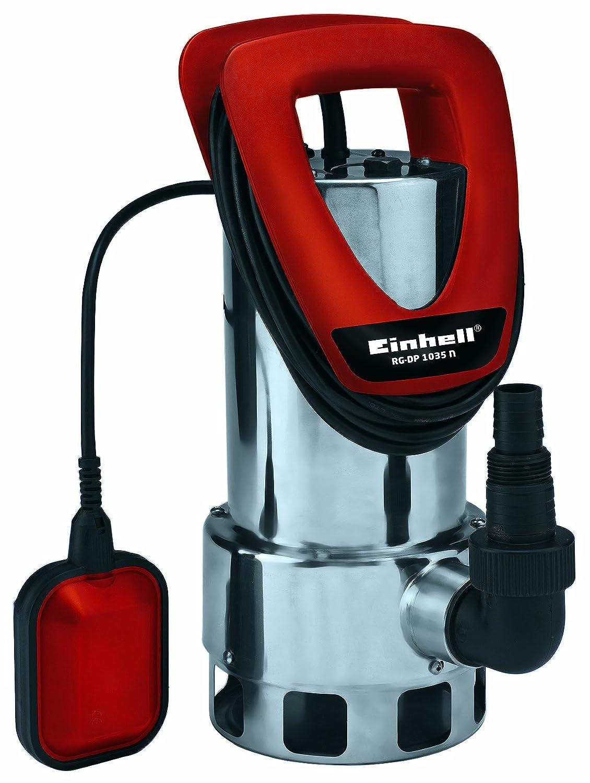 Einhell 4170670 Bomba de Agua sucias, 1050 W, 230 V, Rojo, 46x40x45 cm RG-DP1035N
