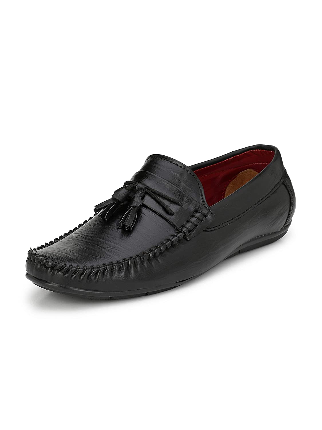 da7c07063e2 Fentacia Men Tassel Loafers(Big Sizes Available Uk6-Uk12)  Buy Online at  Low Prices in India - Amazon.in