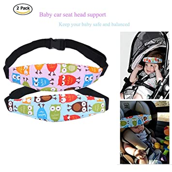 79062557e78 Amazon.com  2 Pcs Toddler Car Seat Infants and Baby Head Support ...