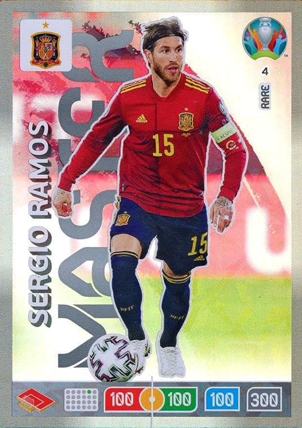 Panini ADRENALYN XL Euro 2020 Sergio Ramos Master Trading Card - Spain #4: Amazon.es: Juguetes y juegos