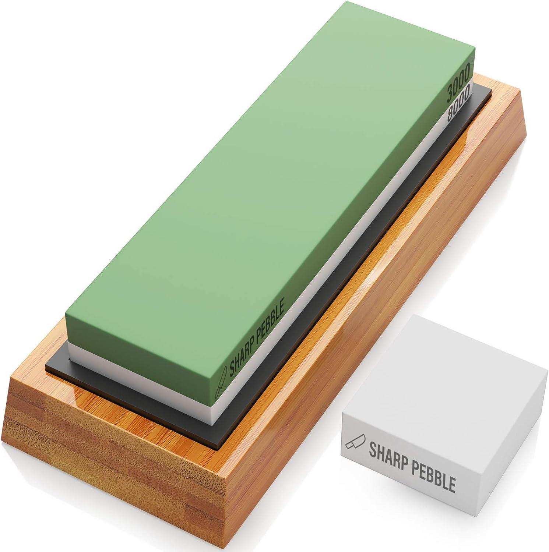 Piedra doméstica para afilar cuchillos de granos 3000//6000 KAI AP-0316