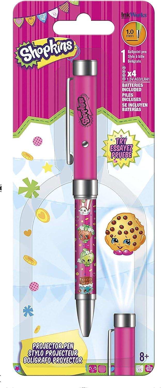 Proyector Pen – Shopkins – Linterna 1,0 mm bolígrafo iw4116 ...