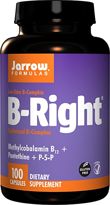 Buy jarrow formulas b-right complex, 100 capsules (pack of 2) on amazon. Com ✓ free shipping on qualified orders.