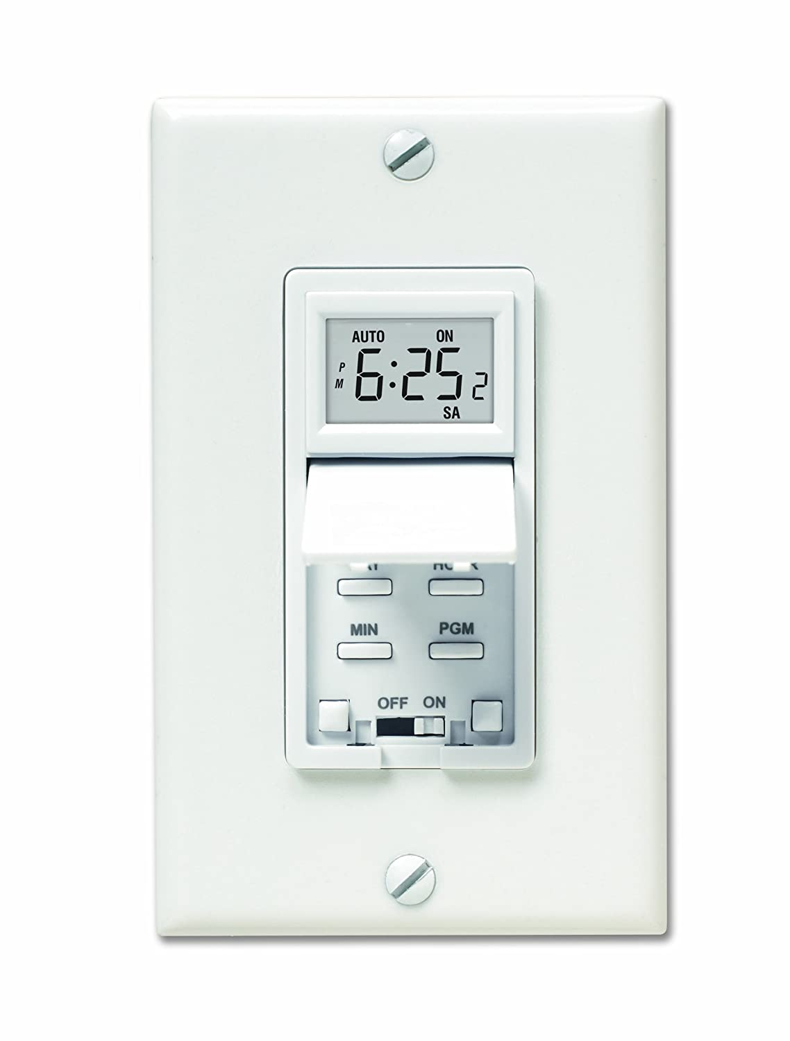 Honeywell Rpls530a 7 Day Programmable Timer Switch White Requires Live Well Wiring Diagram 40 W Minimum Wall Switches