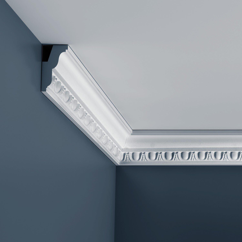 Cornisa Moldura Perfil de estuco Orac Decor C212 LUXXUS Elemento decorativo para pared y techo 2 m