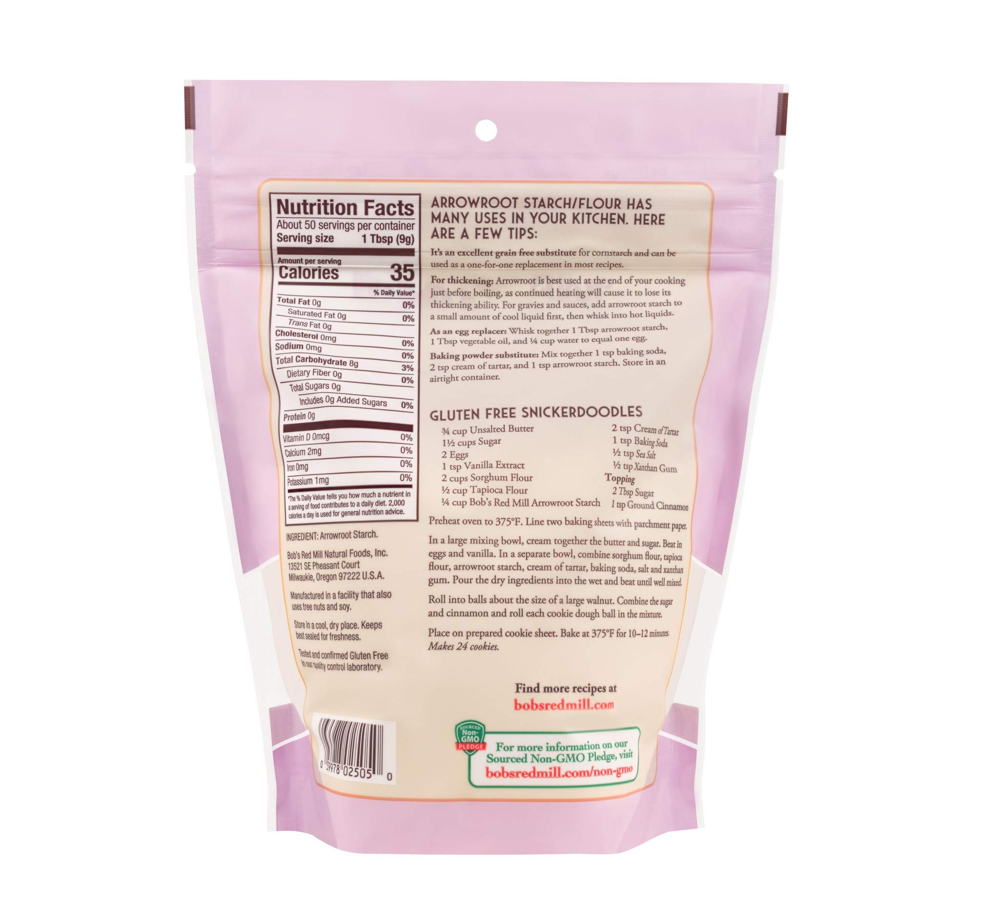 Bob's Red Mill Arrowroot Starch / Flour, 16 Ounces (Packaging May Vary) by Bob's Red Mill (Image #3)