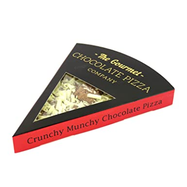 Genuine Crunchy Munchy Gourmet Chocolate Pizza Company Pizza Slice Perfect Gift Present For Birthday Christmas Party Thank You Anniversary Graduation