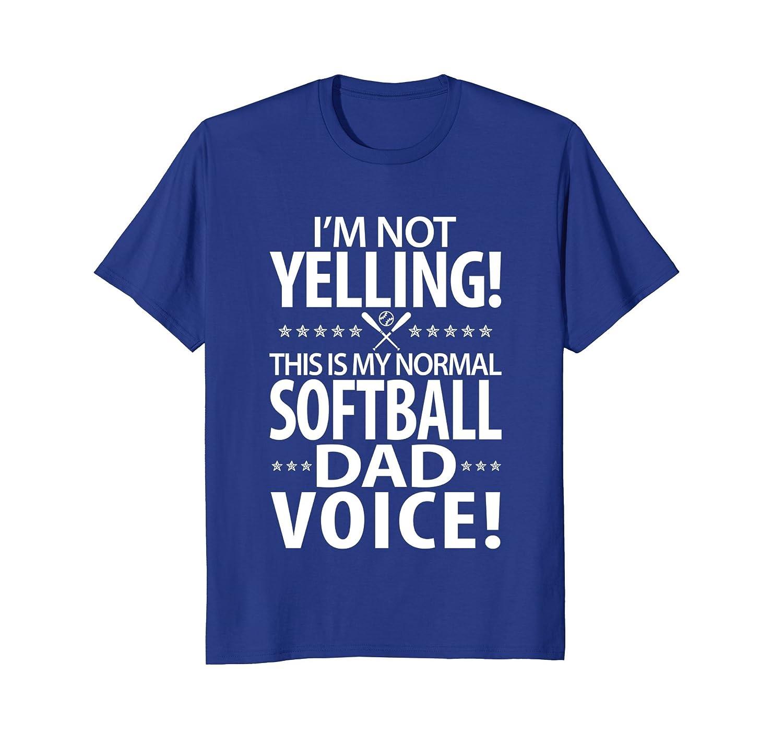 Mens Softball Dad - Funny Dad Birthday Gifts T-Shirt- TPT